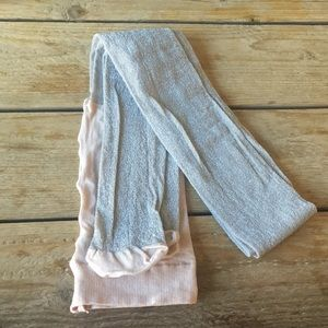 NEW Express Nude Shimmer Tights